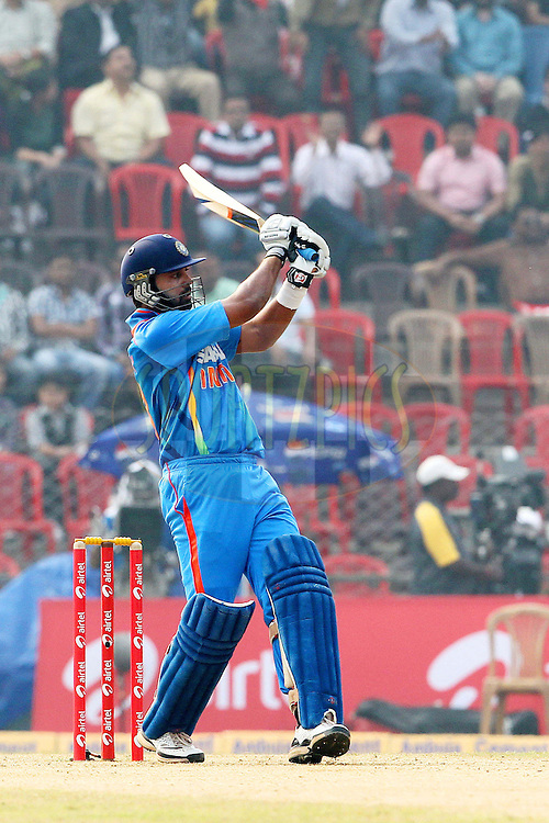 M Vijay during the 1st ODI (One Day International ) between India and New Zealand held at the Nehru Cricket Stadium in Guwahati, Assam, India on the 28th  November 2010..Photo by Ron Gaunt/BCCI/SPORTZPICS