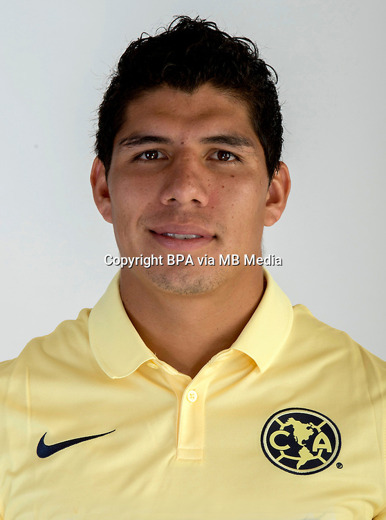 "Mexico League - BBVA Bancomer MX 2014-2015 -<br /> Aguilas - Club de Futbol America / Mexico - <br /> Erik Alan Pimentel Benavides "" Erik Pimentel """