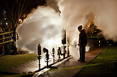 Steam power whistles in a new year