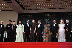 Jury members Chang Chen, Kristen Stewart, Ava DuVernay, Denis Villeneuve, jury president Cate Blanchett, and jury members Robert Guediguian, Khadja Nin, Andrey Zvyagintsev, Lea Seydoux and Cannes Film Festival Director Thierry Fremaux attending the screening of Everybody Knows (Todos Lo Saben) opening the 71st annual Cannes Film Festival at Palais des Festivals on May 8, 2018 in Cannes, France. Photo by Shootpix/ABACAPRESS.COM of 'Everybody Knows (Todos Lo Saben)' and the opening gala during the 71st annual Cannes Film Festival at Palais des Festivals on May 8, 2018 in Cannes, France.