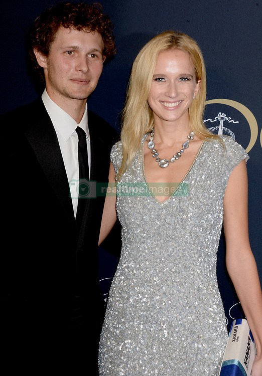Warren Elgort and Kristen Simmons attending Brooks Brothers Bicentennial Celebration At Jazz At Lincoln Center, New York City, NY, USA, on April 25, 2018. Photo by Dennis Van Tine/ABACAPRESS.COM