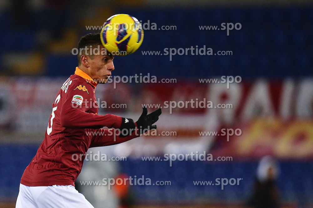 08.12.2012, Olympiastadion, Rom, ITA, Serie A, AS Rom vs AC Florenz, 16. Runde, im Bild Marquinhos Roma // during the Italian Serie A 16th round match between AS Roma and ACF Fiorentina at the Olympic Stadium, Rome, Italy on 2012/12/08. EXPA Pictures © 2012, PhotoCredit: EXPA/ Insidefoto/ Andrea Staccioli..***** ATTENTION - for AUT, SLO, CRO, SRB, BIH and SWE only *****