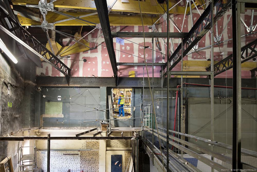 Théâtre Marigny - chantier - Clé Millet