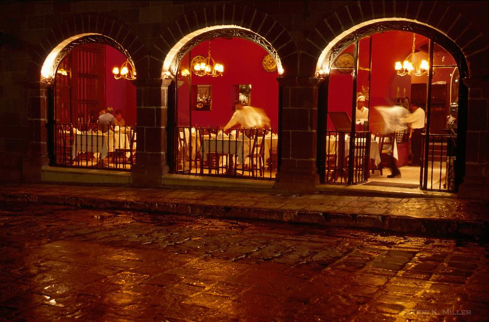 The Restaurant, San Miguel de Allende, Mexico.