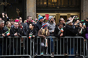 The Crowd at New York's 2015 St. Patrick's Day Parade.