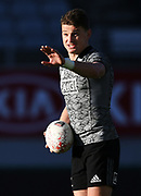 Beauden Barrett, <br /> All Blacks training session at Eden Park ahead of the upcoming test series against France. Auckland, New Zealand. Thursday 7 June 2018. © Copyright photo: Andrew Cornaga / www.Photosport.nz