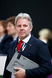 FINCKE Georg (Ringmaster Dressur)<br /> Paris - FEI World Cup Finals 2018<br /> FEI World Cup Dressage Freestyle/Kür<br /> www.sportfotos-lafrentz.de/Stefan Lafrentz<br /> 14. April 2018