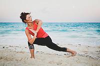 Emerald Bay Yoga with Karen Jones White, Exumas, Bahamas.