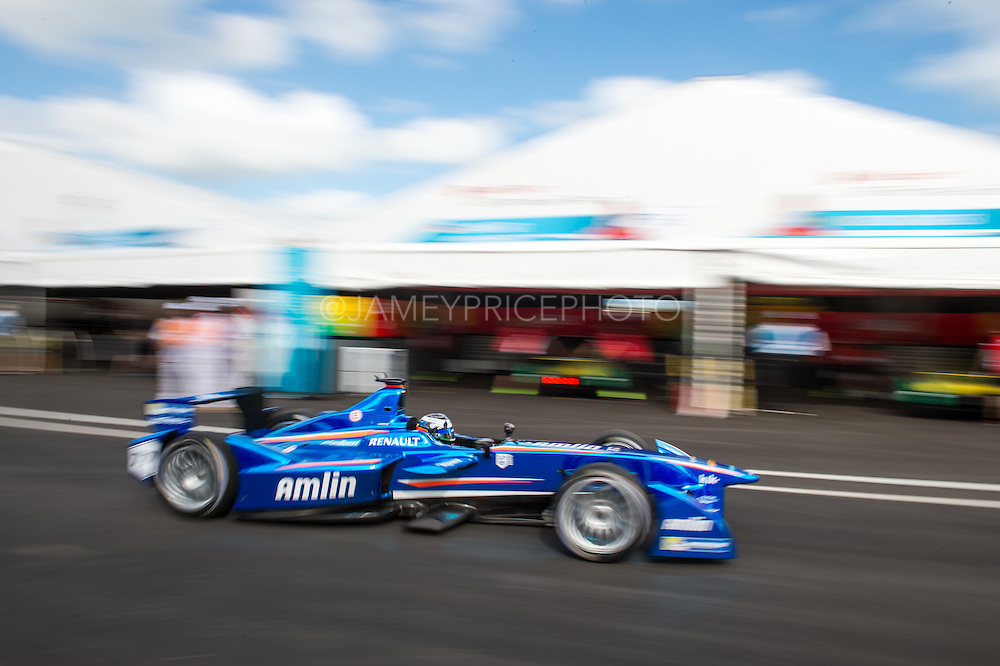 March 14, 2015 - FIA Formula E Miami EPrix: Salvador Duran, Amlin Aguri