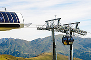 Konigsleiten mountain top. Cable car  Zillertal, Tyrol, Austria
