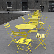 Tables and Chairs, London