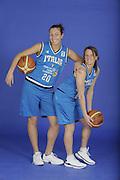 DESCRIZIONE : Venezia Additional Qualification Round Eurobasket Women 2009 Posati Nazionale Femminile<br /> GIOCATORE : Emanuela Ramon Chiara Pastore<br /> SQUADRA : Nazionale Italia Donne<br /> EVENTO : <br /> GARA : <br /> DATA : 04/01/2009<br /> CATEGORIA : Ritratto<br /> SPORT : Pallacanestro<br /> AUTORE : Agenzia Ciamillo-Castoria/M.Gregolin