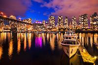 False Creek @ Twilight, Vancouver
