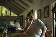 BIRMINGHAM, AL – JUNE 26, 2015: Louie Henry at his Inverness home, on the outskirts of Birmingham. In May of 2015 a background check conducted by Henry's employer revealed a prior conviction for falsely reporting a delinquent loan while Henry worked in the banking industry. Despite it being 14 years since the relatively minor incident, Henry lost his position as a sales-manager at the local medical-technology company after one day on the job. CREDIT: Bob Miller for The Wall Street Journal<br /> RESTRICT
