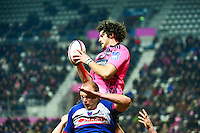 Hugh PYLE / Ben HAND - 14.03.2015 - Stade Francais / Grenoble -  20eme journee de Top 14<br /> Photo : David Winter  / Icon Sport<br /> <br />   *** Local Caption ***
