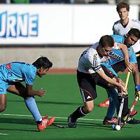 MELBOURNE - Champions Trophy men 2012<br /> Germany  v India 3-2<br /> foto: Oliver Korn..<br /> FFU PRESS AGENCY COPYRIGHT FRANK UIJLENBROEK