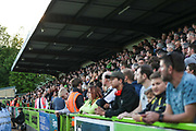 The North Stand during the EFL Sky Bet League 2 second leg Play Off match between Forest Green Rovers and Tranmere Rovers at the New Lawn, Forest Green, United Kingdom on 13 May 2019.