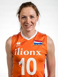 22-05-2017 NED: Nederlands volleybalteam vrouwen, Utrecht<br /> Photoshoot met Oranje vrouwen seizoen 2017 / Lonneke Sloetjes #10