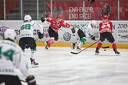 TAVZELJ Andrej  of HDD SIJ Jesenice during Alps League Ice Hockey match between HDD SIJ Jesenice and HK SZ Olimpija on December 20, 2019 in Ice Arena Podmezakla, Jesenice, Slovenia. Photo by Peter Podobnik / Sportida