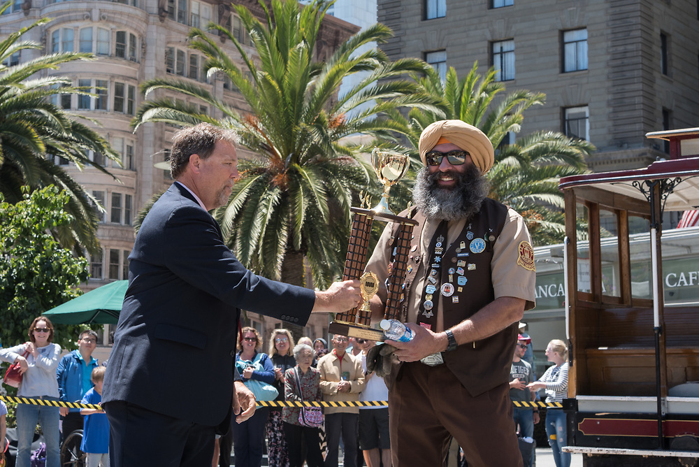 Singh B. Rai Winning 3rd Place at the 54th Annual Cable Car Bell Ringing Contest | July 13, 2017
