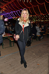 LAURA WHITMORE at the Hyde Park Winter Wonderland - VIP Preview Night, Hyde Park, London on 17th November 2016.
