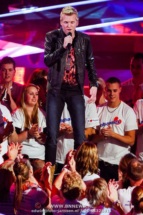 NLD/Hilversum/20121214 - Finale The Voice of Holland 2012, optreden Johannes Rypma