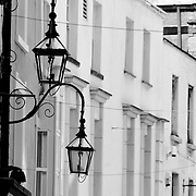 Old Iconic Dublin City Street Lights