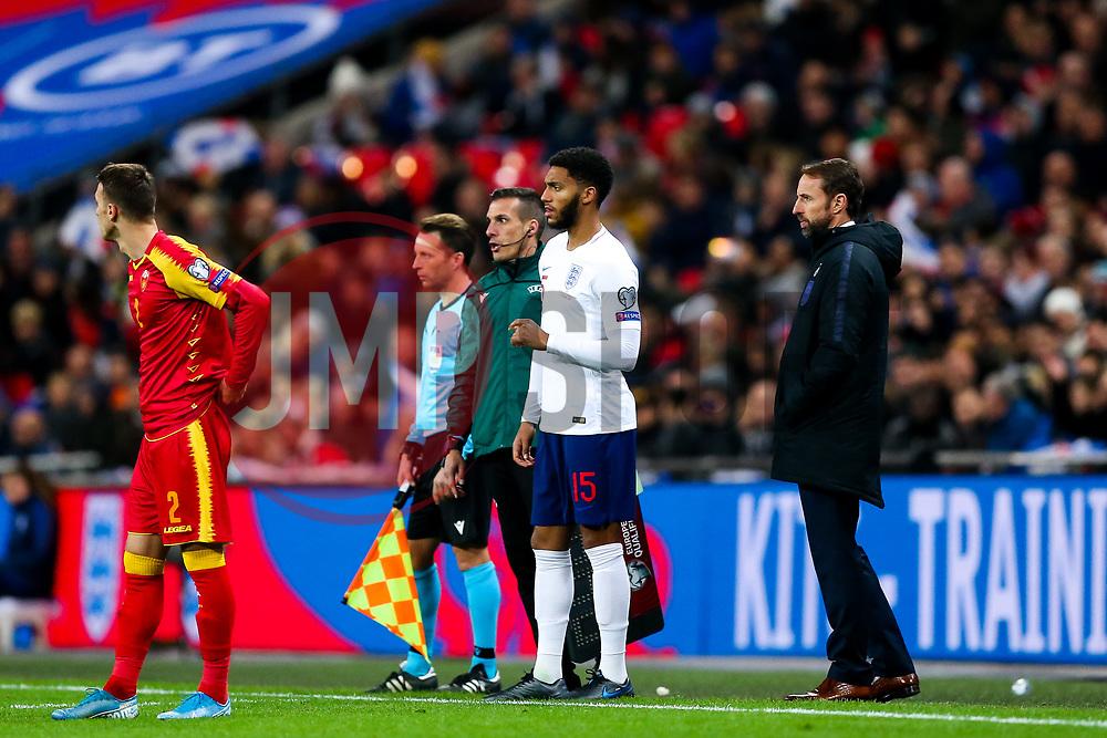 Joe Gomez of England comes on - Rogan/JMP - 14/11/2019 - FOOTBALL - Wembley Stadium - London, England - England v Montenegro - UEFA Euro 2020 Qualifiers.