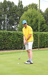 JAMES NESBITT at the Mini Masters Golf tournament in aid of LEUKA - London's first celebrity golf tournament held at Duke's Meadow Golf Club, Dan Mason Drive, London W4 on 14th July 2008.<br /> <br /> NON EXCLUSIVE - WORLD RIGHTS