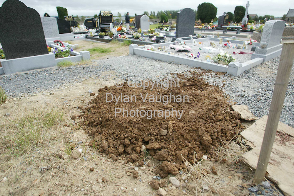 21/8/2003.The grave of Callis Osaghae at St Otterans cemetary on the cork road in Waterford yesterday..Picture Dylan Vaughan
