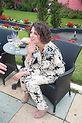 NATASHA PAULINI, Archant Summer party. Kensington Roof Gardens. London. 7 July 2010. -DO NOT ARCHIVE-© Copyright Photograph by Dafydd Jones. 248 Clapham Rd. London SW9 0PZ. Tel 0207 820 0771. www.dafjones.com.