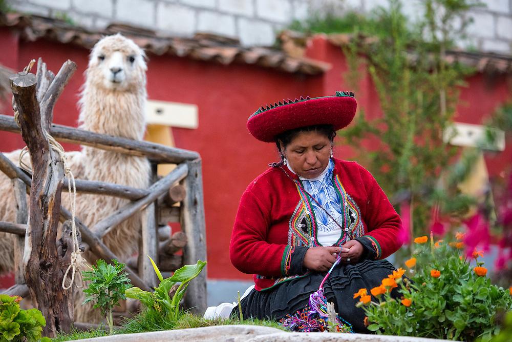 South America; Peru;Cusco,Museo de los pueblos de Paucartambo, native culture museum