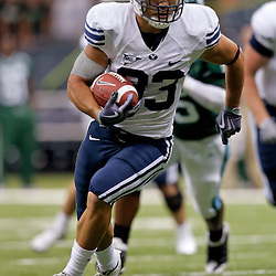 Sep 12, 2009; New Orleans, LA, USA; BYU Cougars running back Bryan Kariya (33) runs towards the endzone for a touchdown in the second quarter against the Tulane Green Wave at the Louisiana Superdome.  BYU defeated Tulane 54-3. Mandatory Credit: Derick E. Hingle-US PRESSWIRE