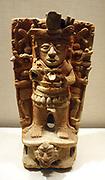 Censer Support, Mexico, Mesoamerican  8th-9th century.  Ceremic.