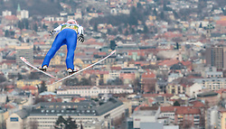02.01.2016, Bergisel Schanze, Innsbruck, AUT, FIS Weltcup Ski Sprung, Vierschanzentournee, Training, im Bild Michael Neumayer (GER) // Michael Neumayer of Germany during his Practice Jump for the Four Hills Tournament of FIS Ski Jumping World Cup at the Bergisel Schanze, Innsbruck, Austria on 2016/01/02. EXPA Pictures © 2016, PhotoCredit: EXPA/ JFK