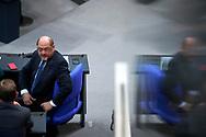 SPD Vorsitzender Martin Schulz bei der Sitzung des Bundestag in Berlin. / 21112017,DEU,Deutschland,Berlin