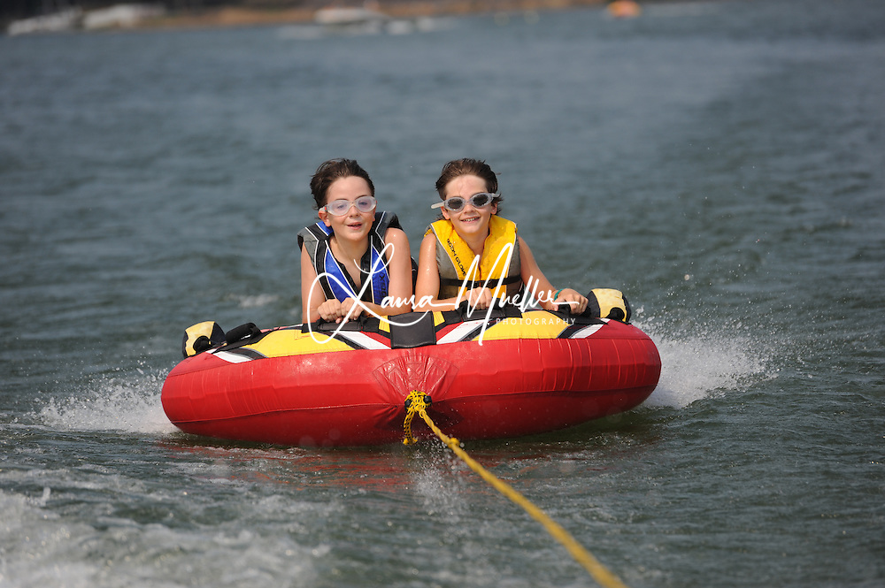 Tubing on Lake Norman.  photo © Laura Mueller 2010