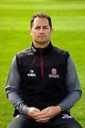 Bowling and Fielding Coach Jason Kerr portrait during the Somerset County Cricket Club PhotoCall 2017 at the Cooper Associates County Ground, Taunton, United Kingdom on 5 April 2017. Photo by Graham Hunt.