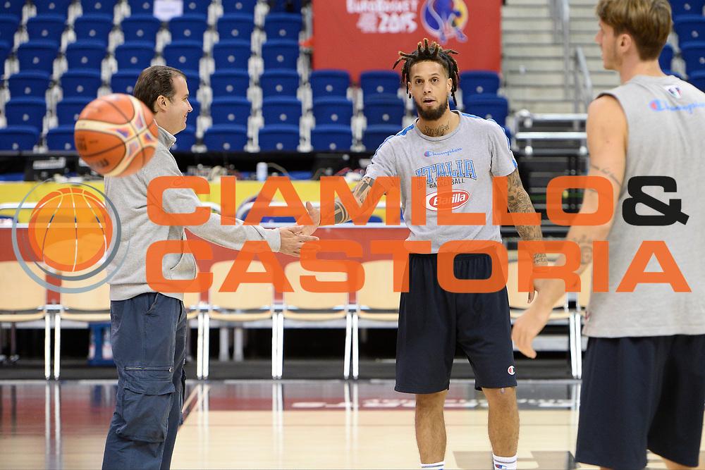 DESCRIZIONE: Berlino EuroBasket 2015 - Allenamento<br /> GIOCATORE: Daniel Hackett <br /> CATEGORIA: Allenamento<br /> SQUADRA: Italia Italy<br /> EVENTO:  EuroBasket 2015 <br /> GARA: Berlino EuroBasket 2015 - Allenamento<br /> DATA: 08-09-2015<br /> SPORT: Pallacanestro<br /> AUTORE: Agenzia Ciamillo-Castoria/I.Mancini<br /> GALLERIA: FIP Nazionali 2015<br /> FOTONOTIZIA: Berlino EuroBasket 2015 - Allenamento