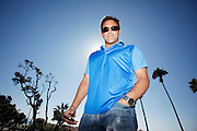 Jordan Belfort poses for a photo on October 18, 2013 in Manhattan Beach CA.