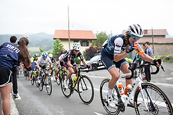 Tayler Wiles (USA) of Trek-Segafredo climbs on Stage 2 of 2019 Emakumeen Bira, a 111 km road race from Aduna to Amasa, Villabona, Spain on May 23, 2019. Photo by Balint Hamvas/velofocus.com