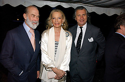 Left to right, TRH PRINCE & PRINCESS MICHAEL OF KENT and ARNAUD BAMBERGER at the annual Chelsea Flower Show dinner hosted by jewellers Cartier at the Chelsea Pysic Garden, London on 22nd May 2006.<br /><br />NON EXCLUSIVE - WORLD RIGHTS