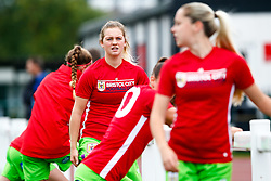Lucy Graham of Bristol City prior to kick off - Mandatory by-line: Ryan Hiscott/JMP - 14/10/2018 - FOOTBALL - Stoke Gifford Stadium - Bristol, England - Bristol City Women v Birmingham City Women - FA Women's Super League 1