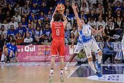 DESCRIZIONE : Beko Legabasket Serie A 2015- 2016 Playoff Quarti di Finale Gara3 Dinamo Banco di Sardegna Sassari - Grissin Bon Reggio Emilia<br /> GIOCATORE : Amedeo Della Valle<br /> CATEGORIA : Tiro Tre Punti Three Point Controcampo Ritardo<br /> SQUADRA : Grissin Bon Reggio Emilia<br /> EVENTO : Beko Legabasket Serie A 2015-2016 Playoff<br /> GARA : Quarti di Finale Gara3 Dinamo Banco di Sardegna Sassari - Grissin Bon Reggio Emilia<br /> DATA : 11/05/2016<br /> SPORT : Pallacanestro <br /> AUTORE : Agenzia Ciamillo-Castoria/L.Canu