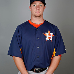 Feb 21, 2013; Kissimmee, FL, USA; Houston Astros catcher Chris Wallace during photo day at Osceola County Stadium. Mandatory Credit: Derick E. Hingle-USA TODAY Sports