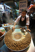 Istanbul. Ko?fte (minced meat balls).