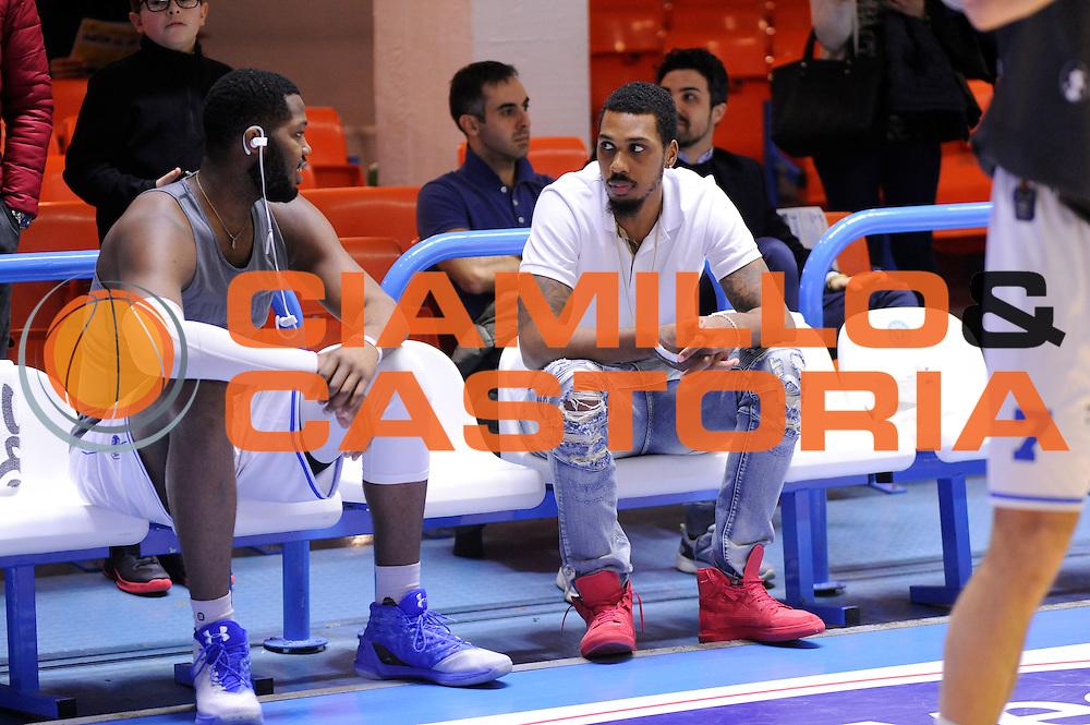 Carter Robert Lawrence , Joseph Kris<br /> Enel Brindisi, Openjobmetis Varese<br /> Lega Basket Serie A 2016/2017<br /> Brindisi, 26/02//2017<br /> Foto Ciamillo-Castoria