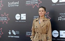 Edinburgh International Film Festival, Thursday, 21st June 2018<br /> <br /> Juror's Photocall<br /> <br /> Pictured: Sophie Skelton<br /> <br /> (c) Aimee Todd   Edinburgh Elite media