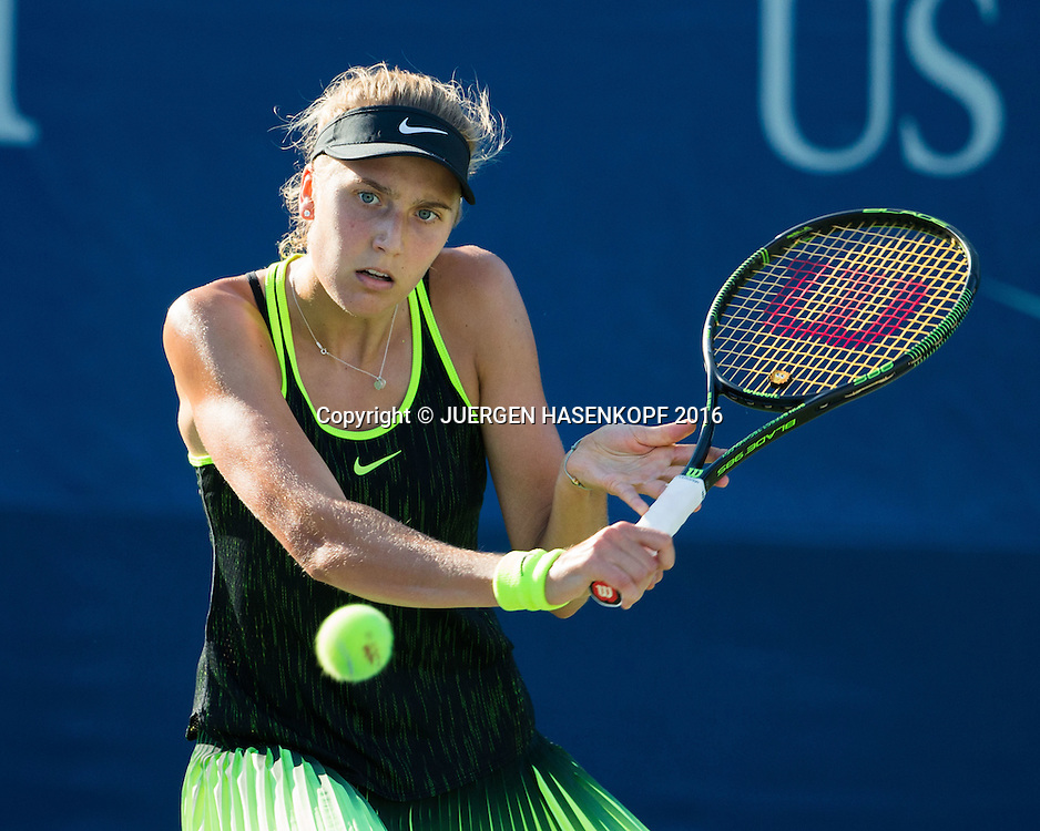 ANTONIA LOTTNER (GER)<br /> <br /> Tennis - US Open 2016 - Grand Slam ITF / ATP / WTA -  USTA Billie Jean King National Tennis Center - New York - New York - USA  - 30 August 2016.