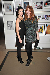 Left to right, LIBERTY ROSS and CHARLOTTE TILBURY at the MAC Salutes party paying tribute to renowned makeup artists held at The Hosptal, Endell Street, London on 22nd February 2009.